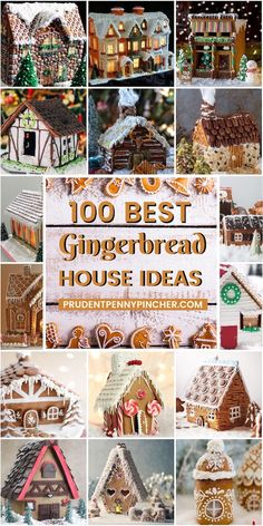 100 Best Gingerbread House Ideas From classic gingerbread houses to easy gingerbread houses, there's plenty of creative gingerbread house decoration ideas for inspiration Gingerbread House Designs, Gingerbread House Parties, Christmas Gingerbread House, Gingerbread Cookies, Gingerbread Recipe For House, Gingerbread House Decorating Ideas, Gingerbread Recipes, Gingerbread Decorations, Gingerbread Man