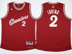 65c92d2a4ad Cleveland Cavaliers  2 Kyrie Irving Red 2015-2016 Christmas Day Jersey  22.0