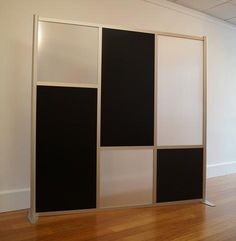 w x h Office Partition Room Divider, Black & Translucent Panels - Today . w x h Office Partition Room Divider, Black & Translucent Panels – Today Pin w Room Divider Headboard, Modern Room, Room Divider, Glass Room