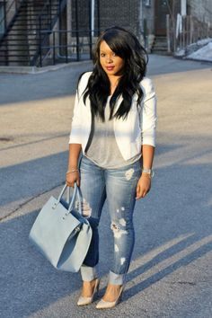 Ripped jeans | My Voguish Diaries