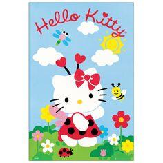HELLO KITTY - Hello Kitty 60x90 cm #artprints #interior #design #art #print #cartoon  Scopri Descrizione e Prezzo http://www.artopweb.com/categorie/cartoni/EC18454
