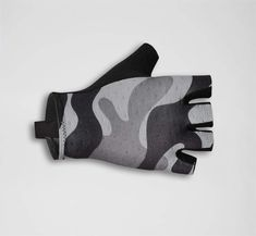 Camou Gloves Grey | La Passione Cycling Couture