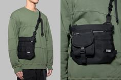 - Shoulder Bag [black] 2017 Features _wear & water resistant fabric / ripstop lining main compartment / 1 hidden pocket at the back _customized YKK® waterproof zippers _YKK® zipper with tactical pulls _modular system (for Side Bags, Inspiration Mode, Hypebeast, Backpack Bags, Fashion Bags, Leather Bag, Messenger Bag, Crossbody Bag, Pouch