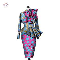 Cheap skirt set woman, Buy Quality skirt set directly from China set women Suppliers: African Clothes Women Ankara Tops Two Piece Set Long Sleeve Crops Tops & Skirt Set Women Bazin Riche African Clothing Ankara Crop Top, Ankara Skirt And Blouse, African Wear, African Fashion, Big Girl Fashion, Traditional Outfits, Traditional Styles, Long Sleeve Crop Top, Chic Outfits