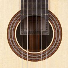 Classical Guitars - 2014 Jean-Noel Rohe SP/CSAR - Guitar Salon International