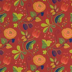Capri Red – The Swedish Fabric Company