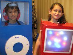 DIY Working iPod Costume   #DIY #costume #halloween