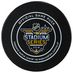 2b10b3b26 Fanatics Authentic Washington Capitals vs. Toronto Maple Leafs 2018 NHL  Stadium Series Unsigned Official Game