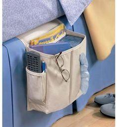Amazon.com: Sidekick Home Organizer Bedside/Arm Chair Caddy, Light Khaki: Home & Kitchen