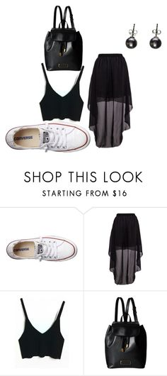 """You never go back"" by jazzy21553 on Polyvore featuring Converse, Marc by Marc Jacobs and onceyougoblack"