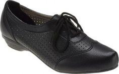 Sapato Oxford Feminino D Moon Preto