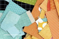 Paper scraps are an inevitable result of paper crafting. Before you toss those leftover pieces of paper scraps into the recycle bin, check out these fun card making projects that are perfect for using up those scraps. Quilting Projects, Craft Projects, Origami, Card Making Techniques, Scrapbook Cards, Scrapbooking, Photo Craft, Paper Cards, Stamping Up