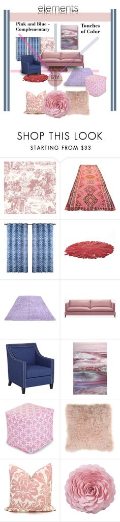 """""""Lines of Pastels"""" by michelletheaflack ❤ liked on Polyvore featuring interior, interiors, interior design, home, home decor, interior decorating, Brewster Home Fashions, Nodus, Studio 55D and Dot & Bo"""