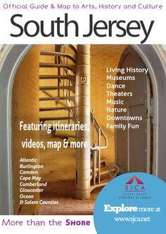 Official Guide & Map of Arts, History & Culture in South Jersey - overview