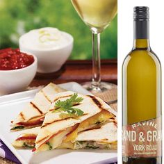 Grilled Quesadillas With Brie And Peaches | Shine {ON} Ontario | LCBO