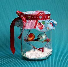 Kreativ-Ideen - Vögelchen im Gurkenglas - Lifestyle Blog: Kosmetik, DIY, Deko, Rezepte   Testbar