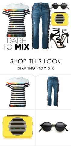 """Funky Fresh Fun"" by latoyacl ❤ liked on Polyvore featuring Mary Katrantzou, Marc by Marc Jacobs and Jimmy Choo"