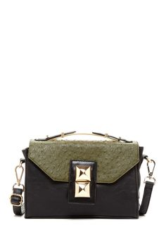 Two-Tone Studded Crossbody bag  #sweet-surprises #www.sweet-surprises.com