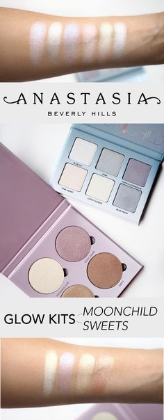 A review of the NEW Anastasia Beverly Hills Glow Kits, Moonchild and Sweets!