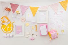 1. Geburtstag (Foto: Silvia | candid moments) Gallery Wall, Frame, Home Decor, Birthday Photos, 1 Year Birthday, Invitations, Homemade Home Decor, Interior Design, Frames