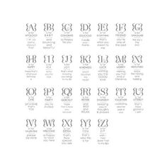 Occasions Alphabet - Clear - C0054 (2)