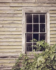 Barn Window / Photography Print   ..rh