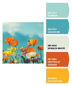 final office color palette - paint colors from Chip It! by Sherwin-Williams