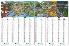 IC4design created six illustrations of the Japanese city of Hiroshima for the Shinkin bank.