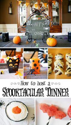 Host a spooky Halloween dinner for kids - Savvy Sassy Moms