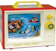 Fisher Price TV 80's