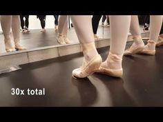e548c50b7c Ballet Barre Follow Along Warmup - YouTube Ballet Moves