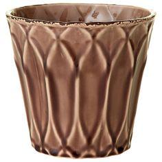 Sage & Co 6.69-inch x 6.69-inch x 6.30-inch Glazed Pot
