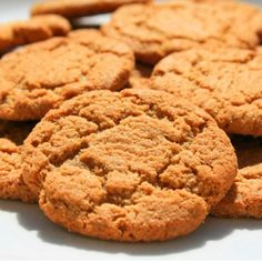Labor inducing ginger cookies.  Worth a try!