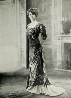 robe du soir 1909 | Flickr - Photo Sharing!