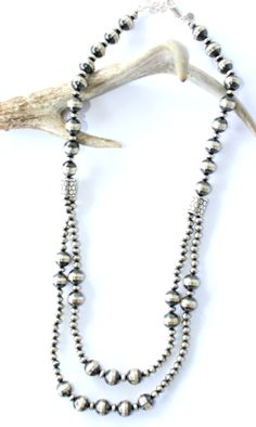 Two Tier Navajo Pearl Necklacehttps://cowgirlkim.com/collections/whats-new/products/two-tier-navajo-pearl-necklace