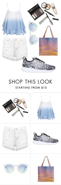 """Cedar Point"" by sorryitsme ❤ liked on Polyvore featuring Borghese, Miss Selfridge and NIKE"