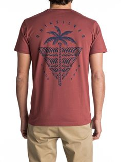 Quiksilver East Palm Break - T-Shirt for Men T Shirt Logo Design, Tee Design, Shirt Designs, Hang Ten, Surf Shirt, Tee Shirt, Custom T Shirt Printing, Surf Outfit, Graphic Shirts