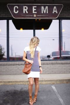25 T-Shirt Dress Outfits to Try for Spring | StyleCaster