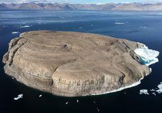 Hans Island....this is Canadas Island GET LOST DENMARK!