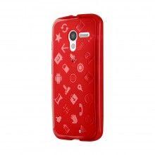 Capa Cruzerlite Moto X - Experience case Vermelho R$52,70