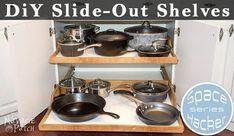 DIY Slide Out Shelves Tutorial