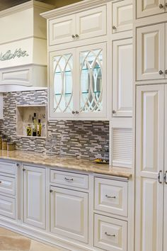 Beautiful showroom display by TNT Cabinetry in Florida!  Door style: Chesapeake Inset   Species: Paint grade   Finish: White  TNT Cabinetry: http://tntcabinetry.com/  Showplace Wood Products: http://www.showplacewood.com/