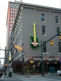 Hard Rock Cafe in Indianapolis     Spring Break 2014