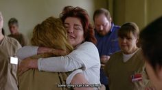 "Galina 'Red' Reznikov (Kate Mulgrew) nell'episodio 4x07 (It Sounded Nicer In My Head) di ""Orange Is The New Black""."