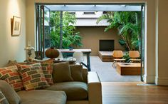 An urban courtyard designed by Sydney based landscape designers Good Manors