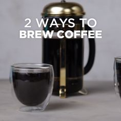 Whether you press it or pour over, here's two foolproof ways to brew coffee! For more delicious coffee recipes, get the TM x Starbucks coffee recipe book! http://sbux.co/2qCujPi [sponsored]