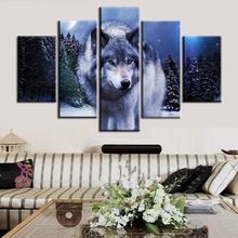 Full square 5D diamond embroidery wolf multigang figure living room decoration diy diamond painting Animal 3D diamond needlework(China (Mainland))