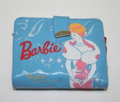 "Vintage Barbie Pale Blue Wallet Featuring ""Enchanted Evening"" | eBay"