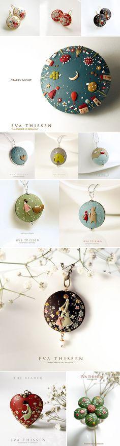 Šperky z FIMA prekypujúce detailami | Eva Thissen