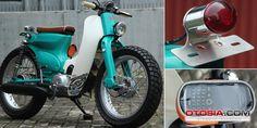 Modif C70: Honda Klasik Bergaya Street Cub Jepang